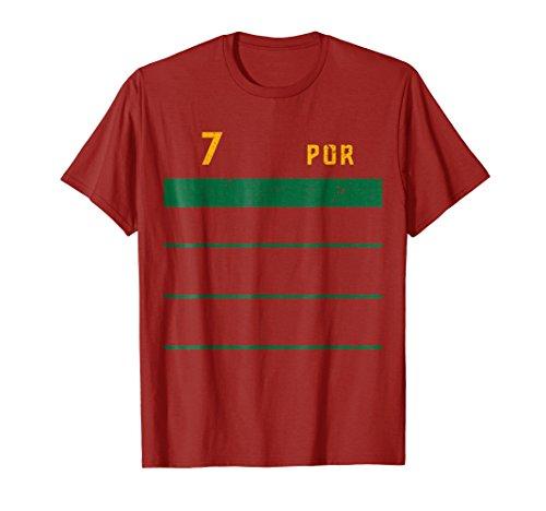 Portugal 2018 Retro Home Soccer (Portugal Home Retro Shirt)