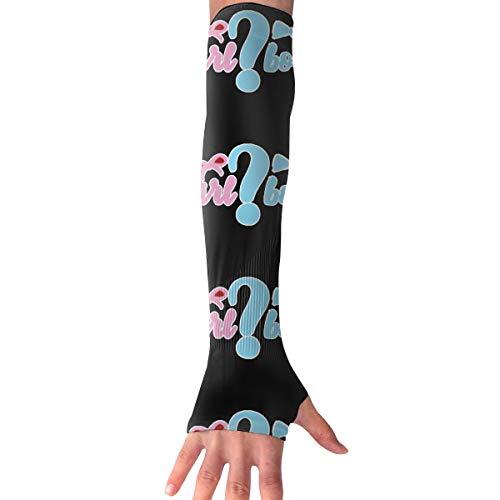 WAY.MAY Swift Bird Of Peace Apparel Boy Sun Protection Sleeve Long Arm Fingerless Gloves Outdoor Sleeve