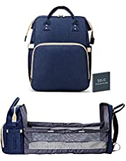 SOJI COLLECTION - 3-in-1 Diaper Bag with Changing Station - Baby Mommy Bag - Compact, Easy to Assemble - Waterproof, Modern