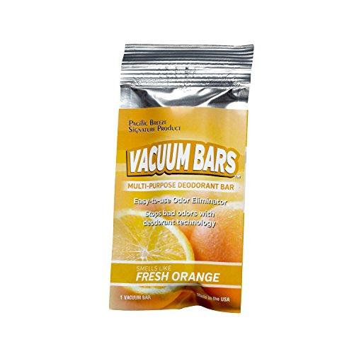 Pacific Breeze Products Vacuum Bars All Purpose Deodorant Bars, Pet Air Freshener, Car Air Fresheners (Fresh Orange) (Breeze Bar)