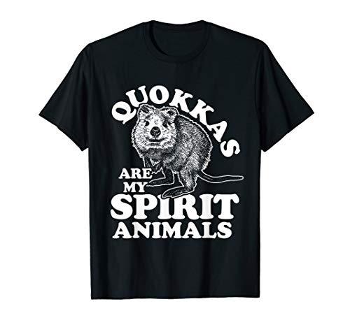 Quokka T-Shirt Spirit Animal Kangaroo -