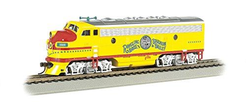 (Bachmann Industries Ringling Bros and Barnum & Bailey F7 A Locomotive Diesel Locomotive)