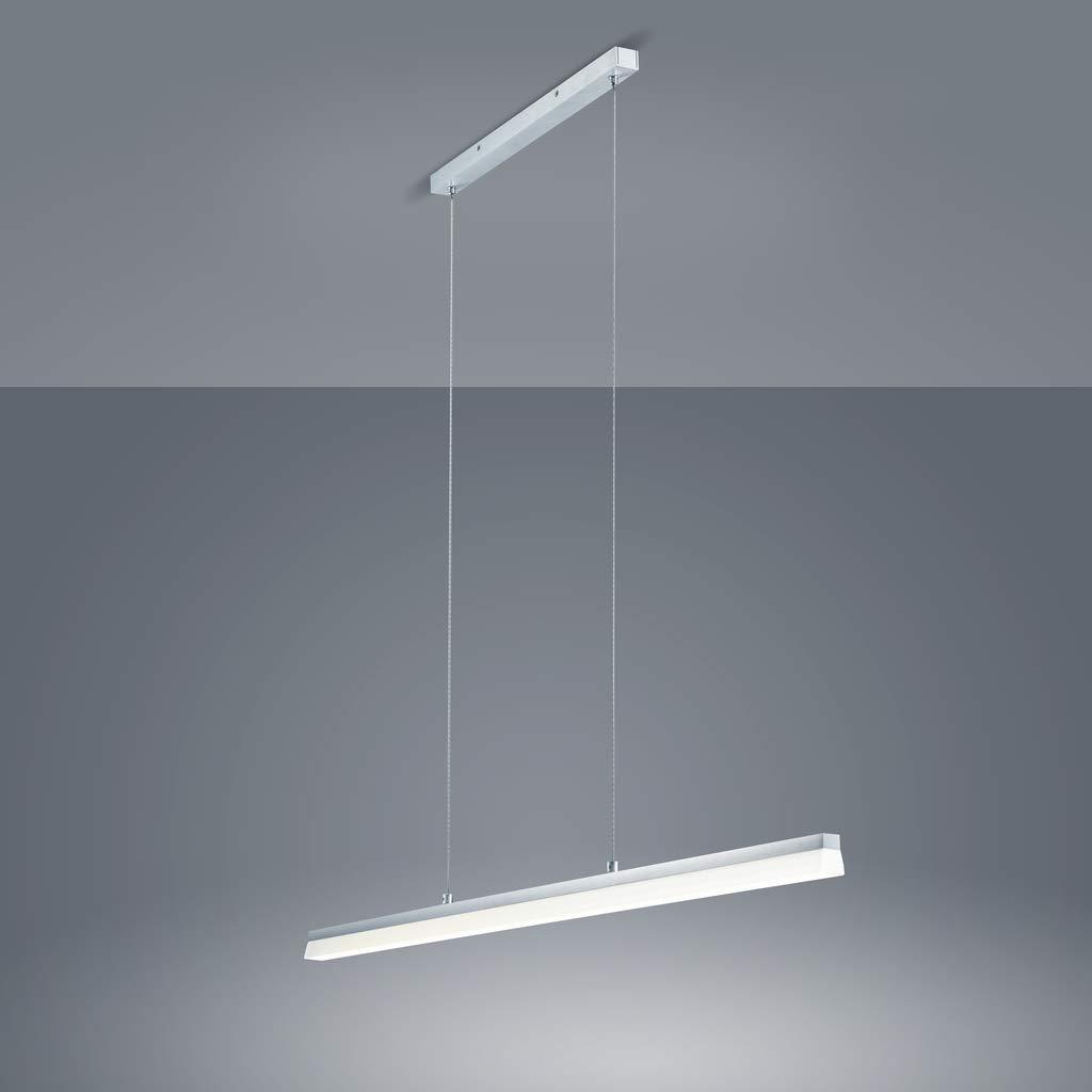 Aluminium Matt Helestra LED Pendelleuchte Moya IP30  LEDs fest verbaut 30W 2645lm warmweiß  16 1722.26