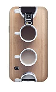 Anti-scratch And Shatterproof Good Morning Coffee Phone Case For Galaxy S5/ High Quality Tpu Case