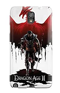Hot Dragon Age Ii First Grade Tpu Phone Case For Galaxy Note 3 Case Cover