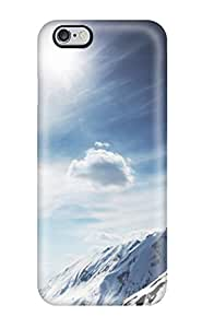 Series Skin Case Cover For Iphone 6 Plus(sunny Snowy Mountains)