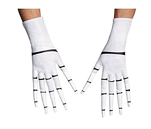 [Jack Skellington Gloves Costume Accessory] (Jack White Halloween Costume)