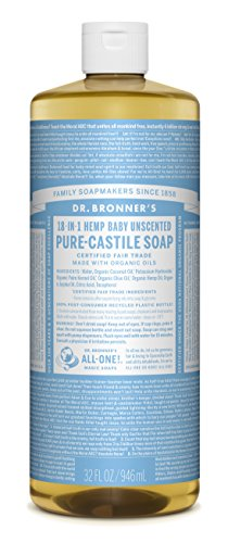 Dr. Bronner's Pure Castile Liquid Soap - Unscented