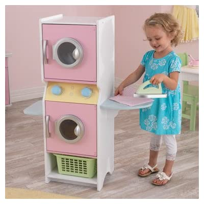 Laundry Play Set, Kids Play Set - Pastel: Toys & Games