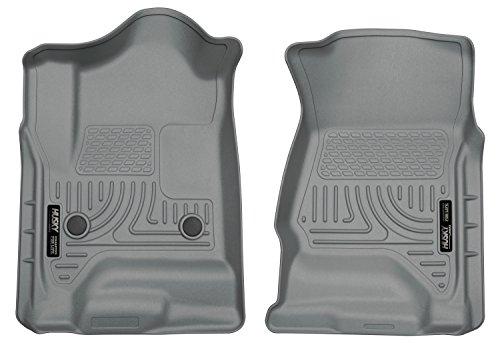 Husky Liners Front Floor Liners Fits 14-18 Silverado 1500, 15-19 Silverado 2500/3500, 19 Silverado 1500 LD, 19 Sierra 1500 Limted