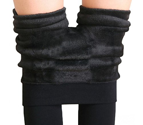 Donna DueGi Coprente Interno in Pantalone Termico Invernale Leggings Pelliccia 77q8r5x