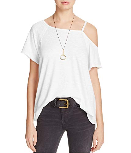 Free People Women's Coraline Tee White Small from Free People