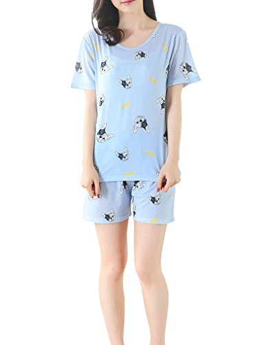 MyFav Printed Sleepwear Cartoon Loungewear