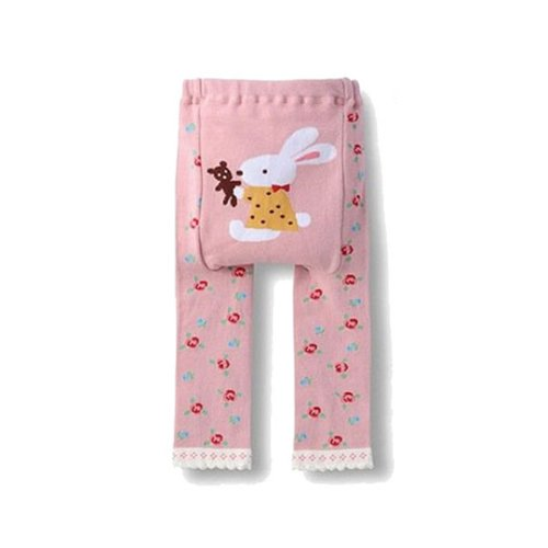 Wrapables Toddler Leggings Bunny Teddy