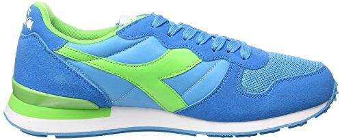 Multicolore Camaro Kvinne Mann For Diadora c6106 Verde Sport Og Sko Fluo Fluo Ciano Azzurro FfqxSA