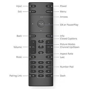VIZIO XRT135 TV REMOTE CONTROL ORIGINAL