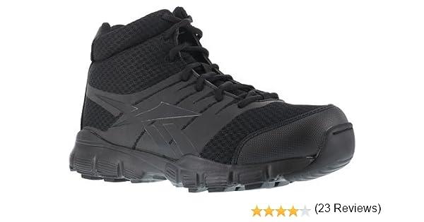 ebcc4313b31 Amazon.com | Reebok Men's Dauntless Tactical Side-Zip Work Boot ...