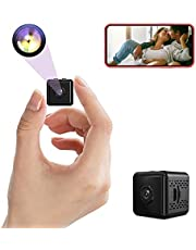 2021 Mini Camera, Small Wireless Camera with Audio, Smart Security Camera, 1080P HD Cameras with Night Vision, Motion Detection-Micro Secret Surveillance Cameras for Indoor/Home/Apartment/Office