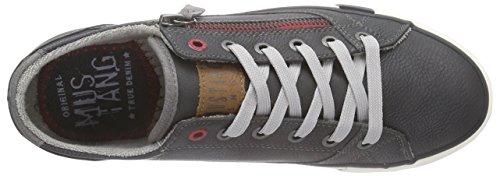 Mustang Schnürhalbschuh - zapatilla deportiva de material sintético mujer gris - Grau (259 graphit)