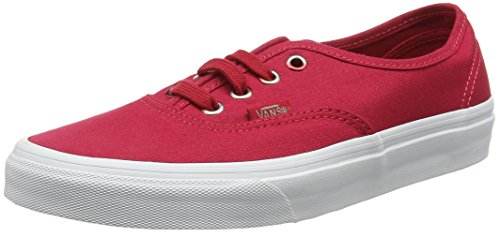 Red Gradient Crimson Top Adults' Unisex Low Sneakers Authentic Eyelets Vans Multi wYa47qR