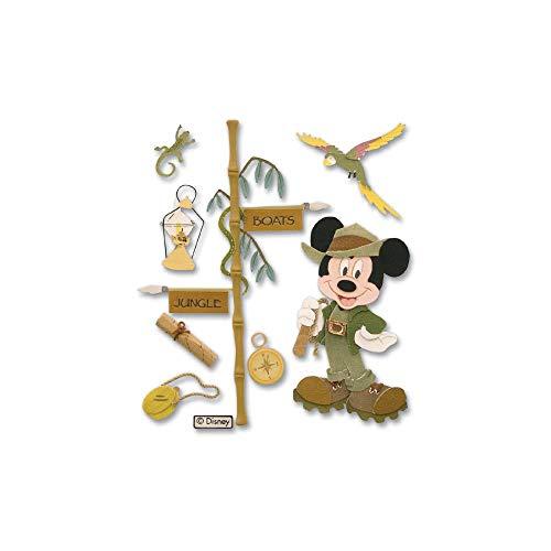 Disney Jungle Mickey Dimensional ()