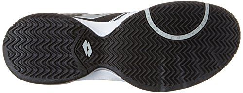 Lotto T-Tour Ix 600, Zapatillas de Tenis para Hombre Blanco (Wht/blk)