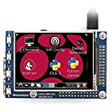 Waveshare 2.8inch RPi LCD (A) 320x240 Resolution Resistive Touch Screen TFT Display Designed for Any Revision of Raspberry Pi