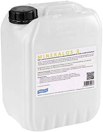Mineralos 3 Dosierlösung 10 Liter Alternative Zu Bwt Mineralstoff Cillit Quantophos F3 Impulsan H3 Baumarkt