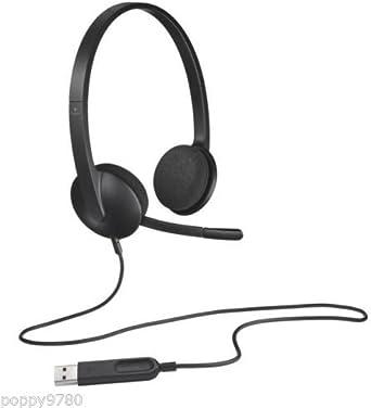 New Logitech Wireless Headset H340 Computer Noise Cancellation 981 000507 Schwarz In Nicht Einzelhandel Verpackung Elektronik