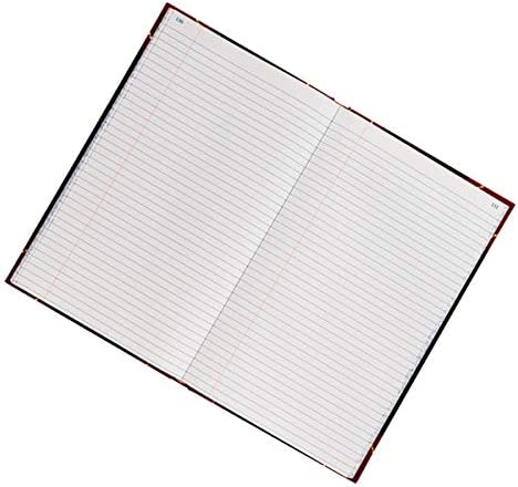 Journal Single Entry Ledger Ruling 11 3//4 x 7 1//4 300 Pages 150 Sheets Office Depot Brand Hardbound Book