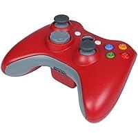 Mando Xbox 360 Inalámbrico STOGA STB02 Controlador de Gamepad para Xbox 360, Joypad para PC Windows XP/7/8/10 (Rojo)