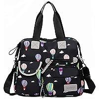 Nylon Multifunctional Mummy Diaper Bags Travel Bag Multi Pocket Lightweight Cross-body Cloud Bags Baby Backpack for…