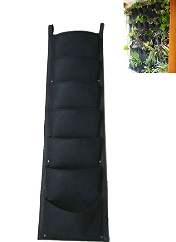 justfund-indoor-outdoor-7-pockets-vertical-garden-hanging-planter-wall-hanging-mount-planter-plant-g