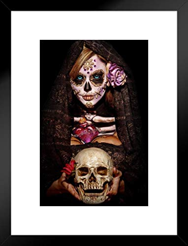 Poster Foundry Fortune Teller by Daveed Benito Matted Framed Wall Art Print 20x26 inch