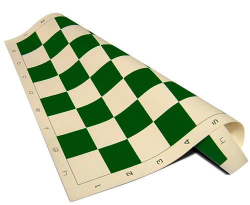 - Chess Board - Standard Vinyl Roll-up in GREEN