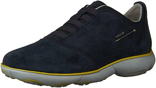 Geox Nebula B Suede, Men's Low-Top Sneakers Blue (Navy)