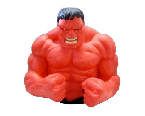 Marvel Red Hulk Bust Bank