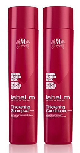 Label.M Thickening Shampoo and Conditioner Duo, 300 ML