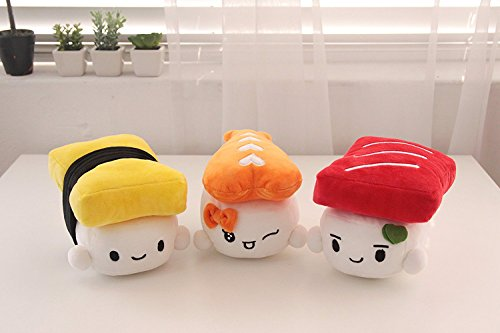 Sushi Plushies - Egg, Shrimp, Tuna 3