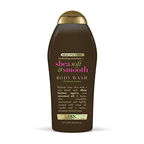 - OGX Shea Soft & Smooth Body Wash 19.5 Fluid Ounce Bottle