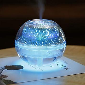 500ML Nano Aroma Difusor con Proyector de Luz Nocturna, Difusor de ...