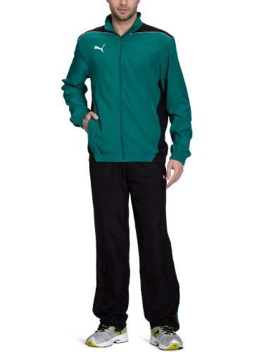 Puma Mens Tracksuit Woven Foundation Jog Suit Track Top/Pants New 653093 05 (Large)