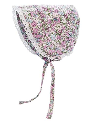 Huggalugs Baby & Toddler Girls Primrose Flowers Bonnet UPF 25+ 3-6 ()