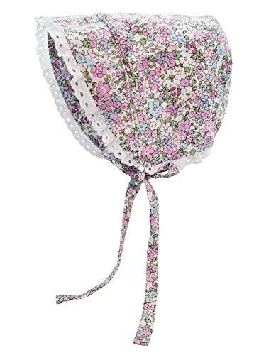 Huggalugs Baby & Toddler Girls Primrose Flowers Bonnet UPF 25+ 0-3