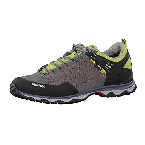 Meindl Zapatos de Senderismo Hombre Ontario GTX 3938 Gris - Gris / Verde