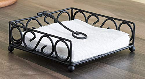 Junaid Wood Handicraft Avi Iron Napkin Holder for Dining Table, Tissue Paper Stand Price & Reviews