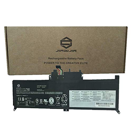 JIAZIJIA 00HW027 Laptop Battery Compatible with Lenovo ThinkPad Yoga 260 Series Notebook 00HW026 SB10F46464 SB10F46465 Black 15.2V 44Wh 2895mAh 4-Cell