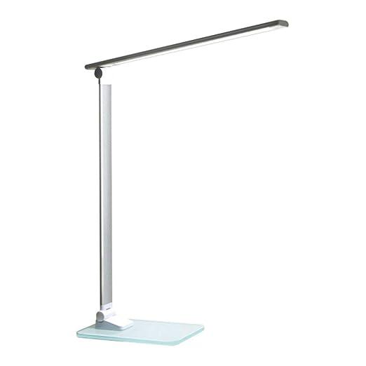 Control De Metal Plegable Sencilla Táctil LED Lámpara De Mesa ...