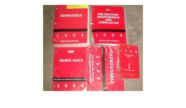 1994 Ford Taurus Mercury Sable Service Shop Manual Set Rhamazon: 1994 Ford Taurus Wiring Diagram At Gmaili.net