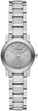 Burberry New Classic Silver Dial Stainless Steel Ladies Watch BU9230